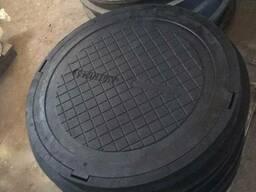Люки смотровых колодцев полимерпесчаные - фото 3