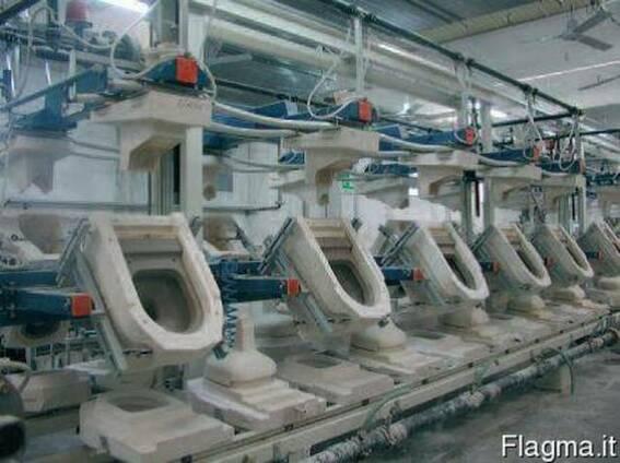 Оборудование для производства санитарно-технических изделий