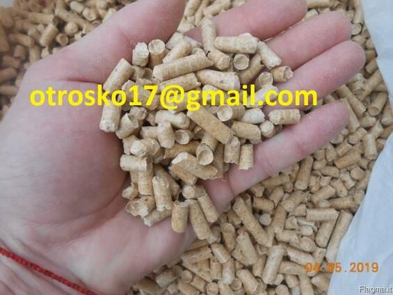 Пеллеты из древесины 6 - 8 мм