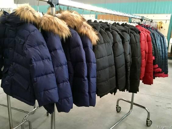 Сток зимних детских курток