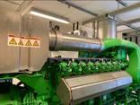 Б/У газовый двигатель Jenbacher JGS 420 , 1513 Квт, 2016 г. - фото 2