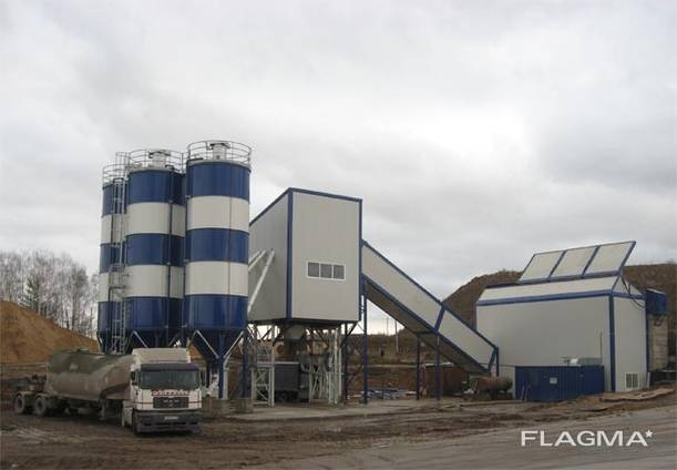 Бетонный завод Стационарный Sumab Т-60 (60 м3/ч) Швеция