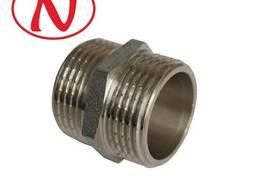 Brass Nippel 1/2M-1M (Nikel) /HS