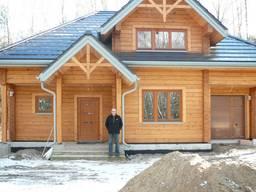 Case di legno da travi incollate - photo 7