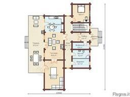 Экологический дом из архангельской сосны под ключ до 500м2 - фото 3
