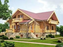 Экологический дом из архангельской сосны под ключ до 500м2 - фото 5