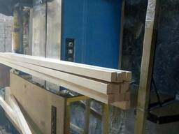 Lamella, veneer, wooden block, finger joint, blockport - фото 2