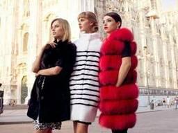 Модные шубы в Милане