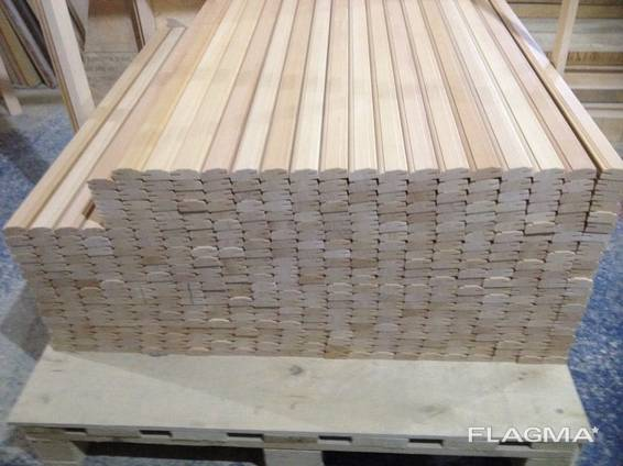 Molded beech products, furniture blanks