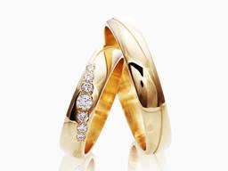 Обручальные кольца по индивидуальному заказу.