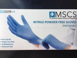 Оптовые поставки нитриловых перчаток. 100 шт = 1 упаковка.