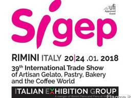 Переводчики на выставке SIGEP 2018 Римини