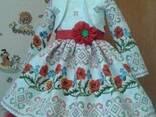 Платья детские и взрослые в украинском стиле, хлопок - фото 2