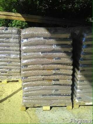 Пеллеты древесные 6-8мм. Producer sells wood pellets 6-8mm