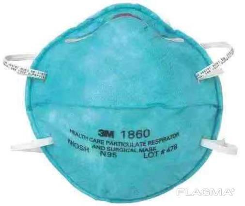 Respirators 3m 1860, 8210, N 95, etc.