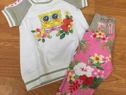 Сток детской фирменной летней одежды