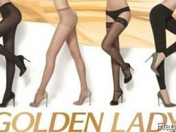 Сток женских колготок Golden Lady, Oro blu, S. Pellegrino