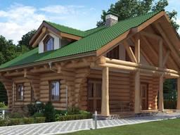Строим продаем деревянные дома и бани коттеджи.