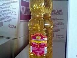 Sunflowers oil подсолнечное масло