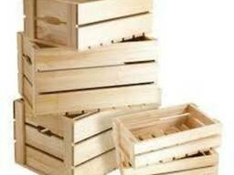 Ящики для фруктов деревянные