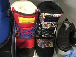 Зимняя детская обувь. Сток. - фото 4