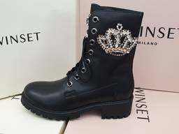 Зимняя обувь из Италии TwinSet